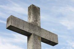 Cruz de pedra Foto de Stock Royalty Free