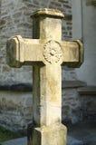Cruz de pedra Foto de Stock
