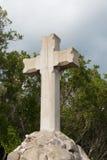 Cruz de pedra Fotografia de Stock Royalty Free