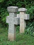 Cruz de piedra Fotografía de archivo