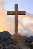 Cruz de piedra Fotos de archivo libres de regalías