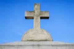 Cruz de piedra Imagen de archivo