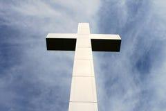 Cruz de piedra hermosa Imágenes de archivo libres de regalías
