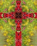 Cruz de Sumac Imagens de Stock Royalty Free