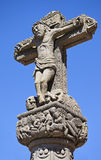 Cruz de Tejeda, cross of Tejeda, Tenerife Stock Image