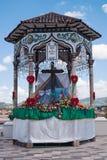 Cruz de Vado in Cuenca Stock Images
