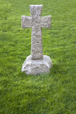 Cruz del cementerio Foto de archivo libre de regalías