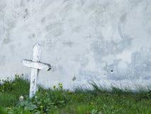 Cruz del cementerio Fotografía de archivo libre de regalías