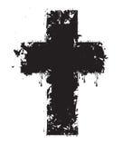 Cruz del Grunge Imagenes de archivo