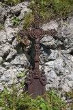 Cruz del hierro Imagen de archivo libre de regalías