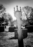 Cruz del hierro de la iglesia de Trømborg Imagenes de archivo