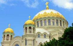 Catedral en Kronstadt Fotos de archivo libres de regalías