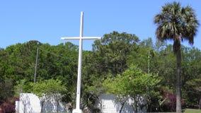 Cruz del parque de Bayview en un día soleado fotografía de archivo libre de regalías