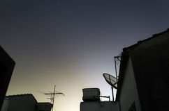 Cruz del sur con Alpha Centauri Imagen de archivo libre de regalías