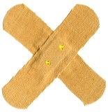 Cruz del yeso Fotos de archivo libres de regalías