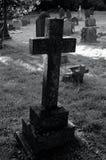 Cruz do cemitério. imagens de stock