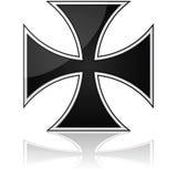 Cruz do ferro ilustração stock