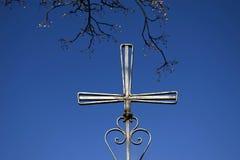 Cruz do ferro Imagem de Stock Royalty Free