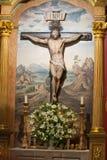 Cruz do Jesus Cristo Fotos de Stock Royalty Free