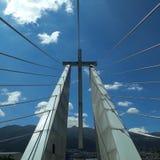 Cruz do monumento do papa Fransisco fotos de stock