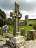 Cruz elevada irlandesa imagens de stock