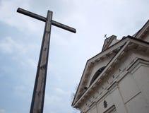 Cruz em Bielsk imagens de stock