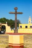Cruz em Cholula, México fotos de stock royalty free