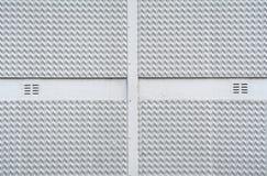 Cruz en estructura del zigzag Fotos de archivo libres de regalías