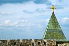 Cruz en iglesia Foto de archivo libre de regalías