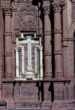 Cruz en la iglesia Cusco Fotos de archivo libres de regalías