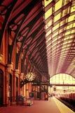 A Cruz Estação de Londres do rei Fotografia de Stock