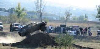 Cruz experimental 4x4 do jipe de Moldova Ohei Imagem de Stock Royalty Free