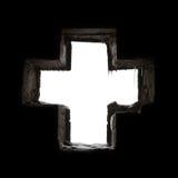 Cruz gótica fotografía de archivo