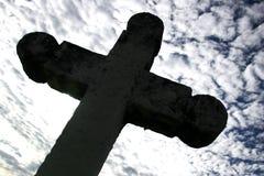 Cruz gótico foto de stock
