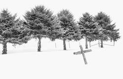 Cruz hecha a mano Fotos de archivo