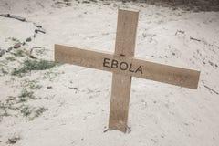 Cruz II de Ebola Foto de Stock Royalty Free