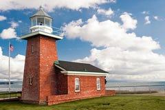 cruz latarnia morska Santa Obrazy Stock
