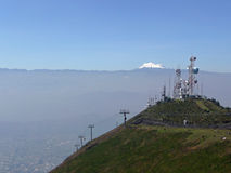 Cruz Loma Quito Summit Stock Photos