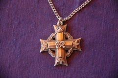 A cruz memorável Fotografia de Stock