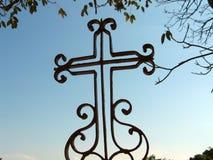 Cruz Ornamented Foto de Stock