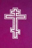 Cruz ortodoxa Foto de archivo libre de regalías