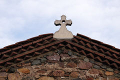 Cruz ortodoxa imagen de archivo libre de regalías