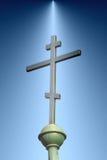 Cruz ortodoxo Imagem de Stock Royalty Free
