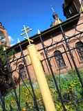 Cruz ortodoxo Imagens de Stock Royalty Free