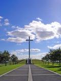 Cruz papal Imágenes de archivo libres de regalías