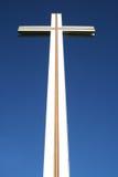 Cruz papal fotografia de stock
