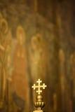 Cruz patriarcal Imagenes de archivo