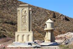 Cruz-pedra armênia Imagens de Stock Royalty Free