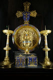 Cruz plateada oro de Napoleon III Imagen de archivo