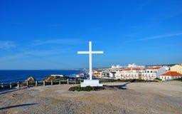 cruz portugal santa Arkivfoto